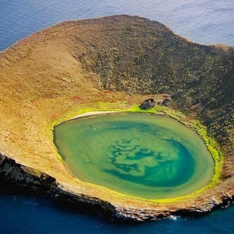 Bainbridge Rocks of Galapagos Islands