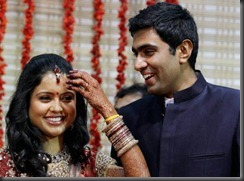 ashwin wedding reception