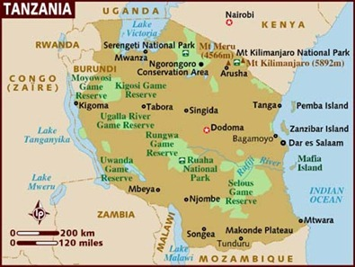 map_of_tanzania