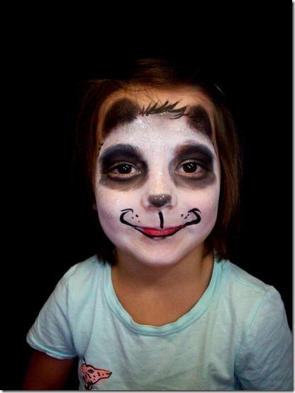 maquillaje de oso panda (3)