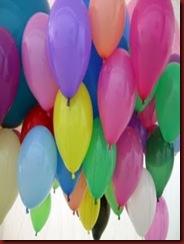 Casa 13 - Alegria Balões de Gás Coloridos