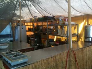 Keuken in Torla