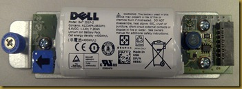Dell MD3200 RAID Controller Battery