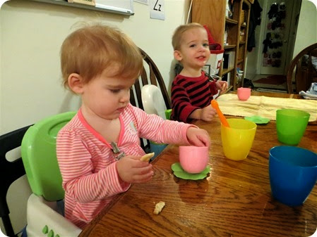 First Twin Tea Party