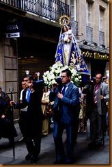 Santiago, procession