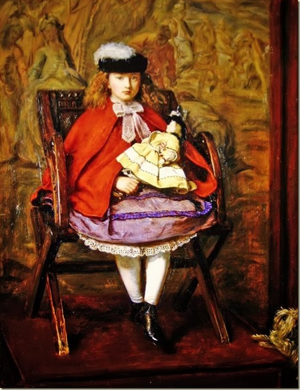 John Everett Millais,  Portrait de Lilly  Noble