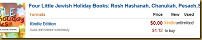 Four Little Jewish Holiday Books, by Jennifer Tzivia MacLeod, only 99 cents on Amazon