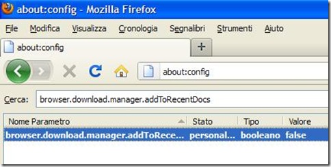 about:config Firefox