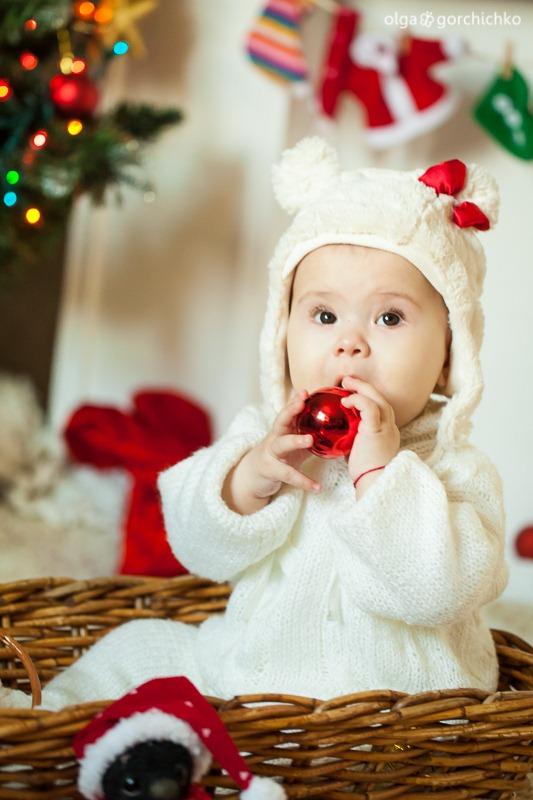 Детский новогодний фотопроект Рождественские мечты. 31. Настя и Никита-1