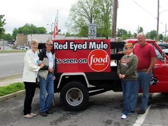 1304208 Apr 29 Lydia Jim Barb Terry In Front Of Truck Comp