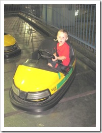 Florida vacation Old Town bumper car twin3