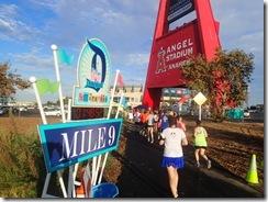 Disneyland Half Marathon Angels Stadium 1