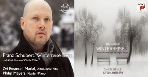 CD REVIEW: Franz Schubert - WINTERREISE (Thorofon CTH2615 & Sony Classical 88883788232)
