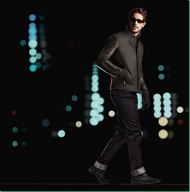 Justice Joslin by David Sims for Zegna Sport FW 13