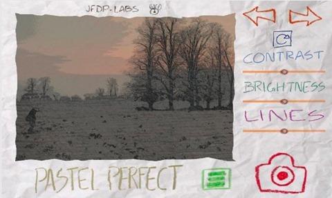 Paper Camera Pastel Perfect