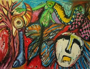 in_the_beginning_modern_art_painting_pablo_Saborio2012
