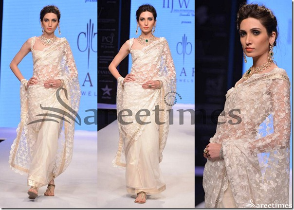 Day_2_IIJW_White_Floral_Design_Saree