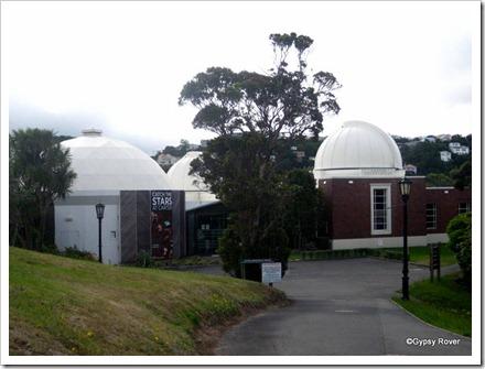 Carter Observatory, Botanical Gardens.