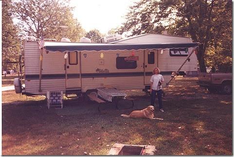 Donna&Dukecamping