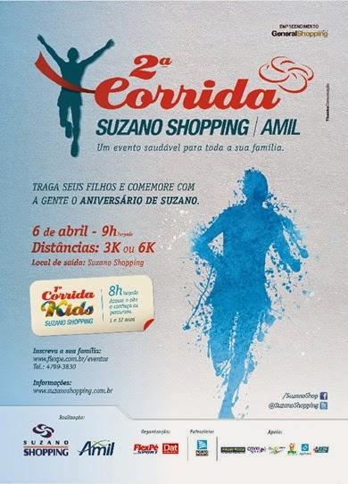 2º Corrida Suzano Shopping e 1º corrida Kids