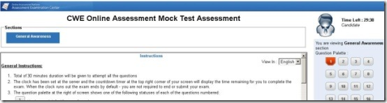 ibps online clerk exam mock test,ibps mock test,ibps clerical mock test 2012,mock test ibps clerks