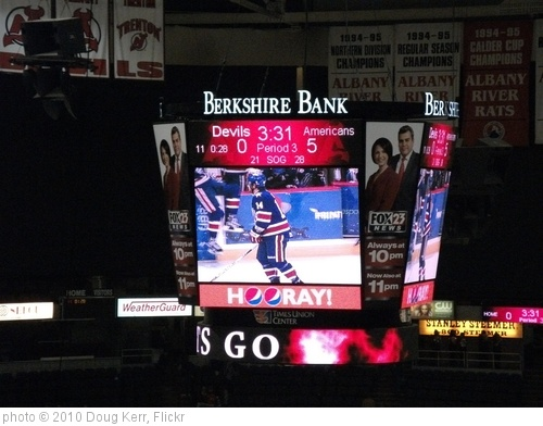 'Rochester Americans vs. Albany Devils - January 29, 2011' photo (c) 2010, Doug Kerr - license: http://creativecommons.org/licenses/by-sa/2.0/