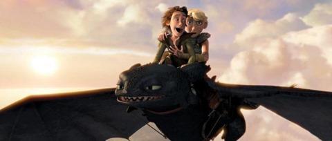 Primer teaser Como entrenar a tu dragon 2