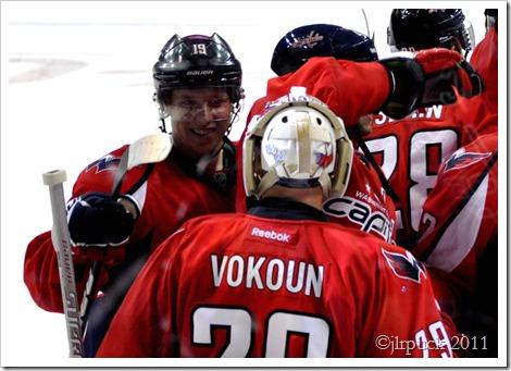 Congratulating Vokoun