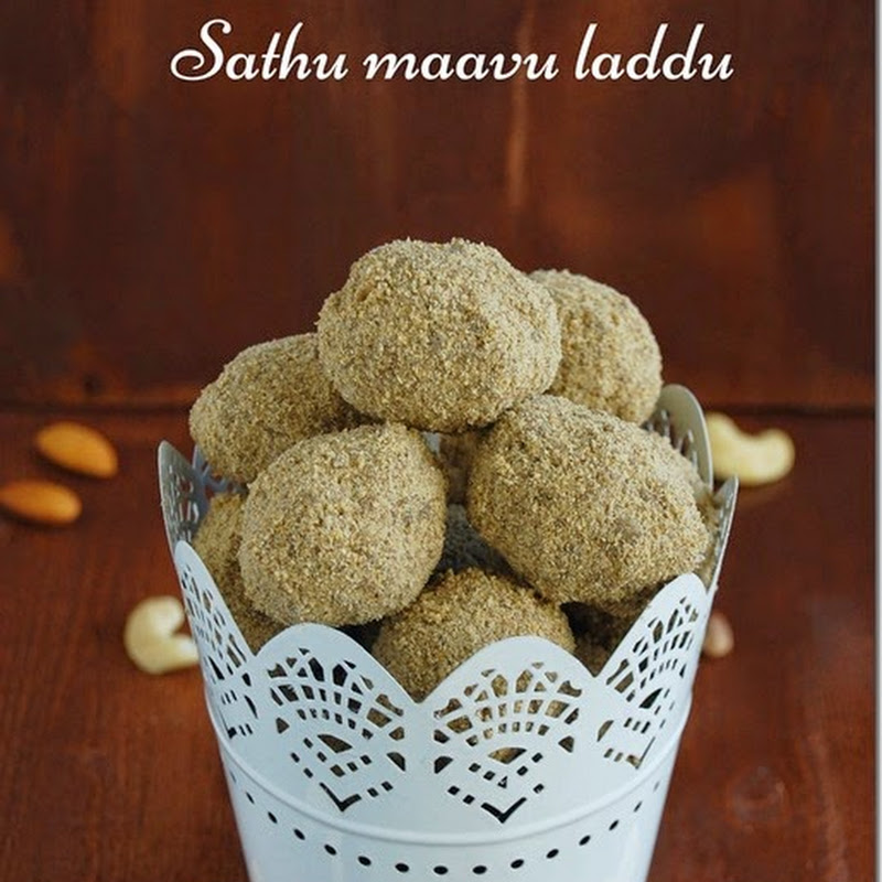 Health mix laddu / sathu maavu laddu