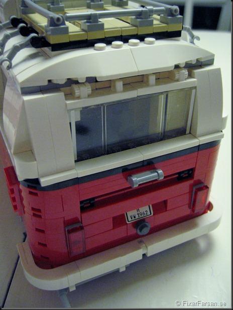 Rear bakdel Lego 10220 Volkswagen T1 Camper Van Bilder