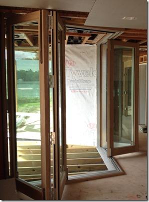 corner bifold door