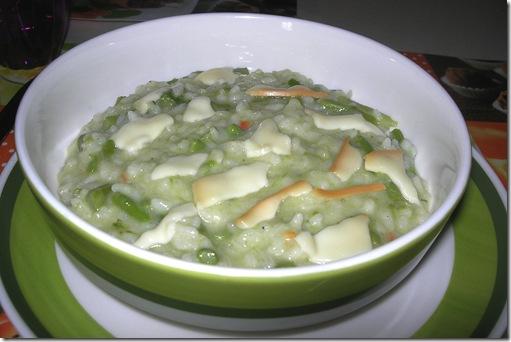 scamorza risotto asparagi