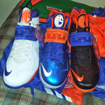 nike zoom soldier 7 pe amare stoudemire knicks 1 02 Amare Stoudemire Wears 1 of his 3 Soldier VII New York Knicks PEs