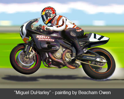 Auto Motorcycle Racing on Duhamel On The Harley Davidson Vr1000 Ama Superbike  Motorcycle Racing