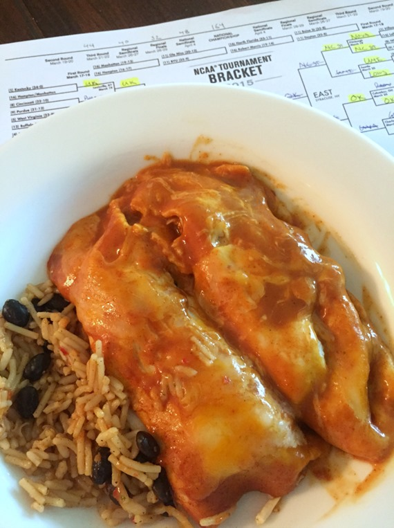 Crockpot Enchiladas - A healthy meal that they won't even know is healthy!