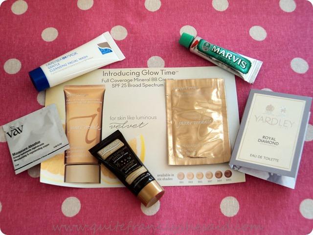 November Joliebox Beauty Box contents