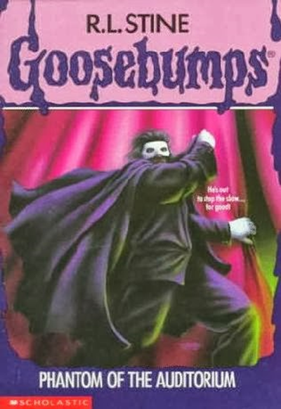 goosebumps Phantom of the auditorium cover