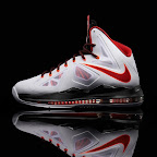 nike lebron 10 gr miami heat home 6 03 Release Reminder: Nike LeBron X MIAMI HEAT Home
