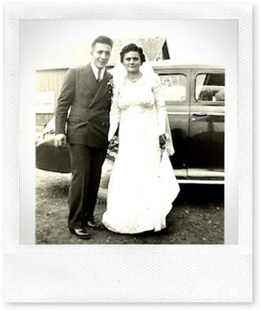 Grandma & Grandma Nov 7, 1942