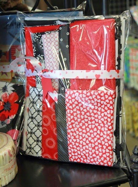 Sweet Valentine quilt kit