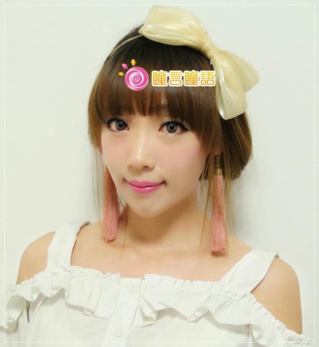 周小兔分享-GEO Eyes Cream霜淇淋灰 甜美的混血風