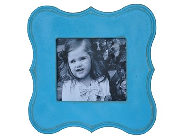 Blue Scallop Frame