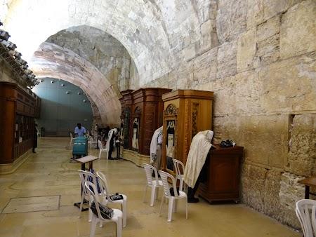 Zidul Plangerii partea indoor
