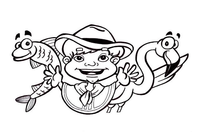 Dibujos de niños peruanos para colorear - Actividades para niños ...