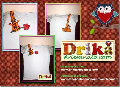 Divulagação girafa Drika Artesanato