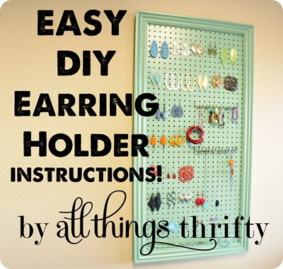 10 DIY Jewelry Holders You Put It On