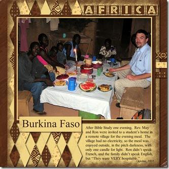 Ron Burkina Faso
