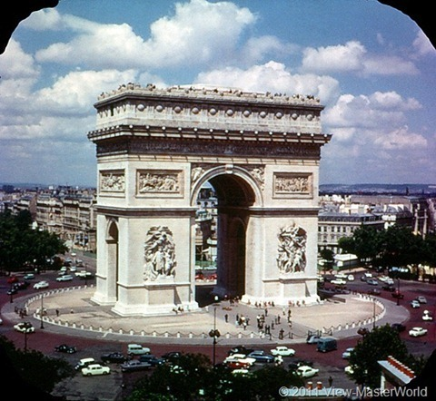 View-Master Paris, France (B177), Scene 5: Arc de Triomphe