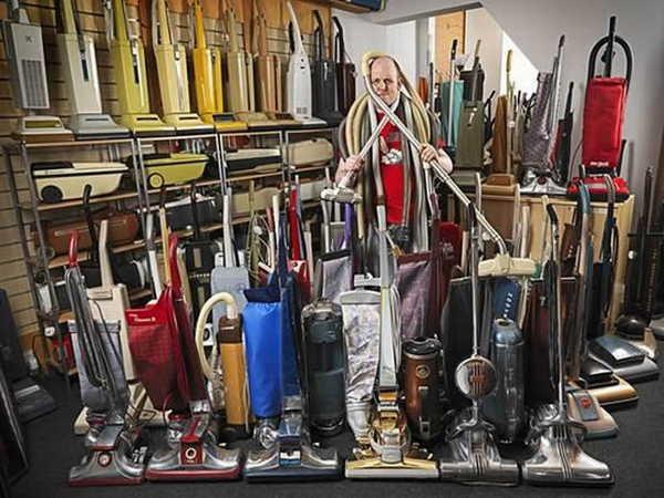 3- A maior coleção de aspiradores de pó