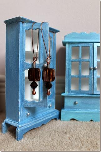 long scale earrings